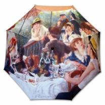 [바보사랑]명화_우블리-르누아르 뱃놀이에서의 점심 65우산양산겸용 멜빵자동우산