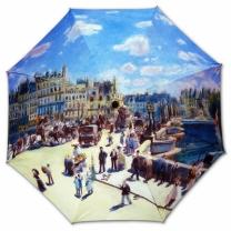 [바보사랑]명화_우블리-고흐 르누아르 퐁네프다리  65우산양산겸용 멜빵자동우산