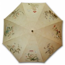 [바보사랑]명화_우블리-신사임당 초충도 65우산양산겸용 멜빵자동우산