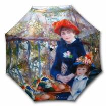 [바보사랑]명화_우블리-르누아르 두자매 65우산양산겸용 멜빵자동우산