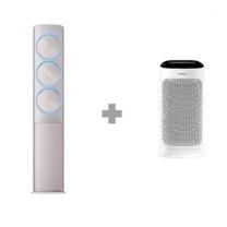 [하이마트] [스탠드 에어컨+공기청정기 패키지] AF25N9970RFH1 (81.8㎡) 기본설치비 무료