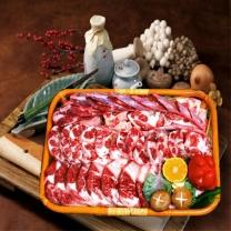 [냉동]농협안심 한우 꼬리반골세트 5kg/HACCP인증