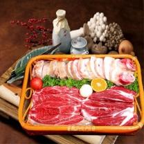 [냉동]농협안심 한우우족세트3.4kg/우족2.4kg+사태1kg