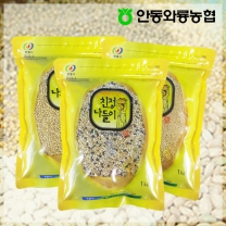 [안동와룡농협] 영양만점 혼합 잡곡 3kg 6호 (찰보리쌀+혼합15곡+기장쌀)