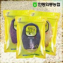 [안동와룡농협] 영양만점 혼합 잡곡 3kg 4호 (찰흑미+기장쌀+팥)