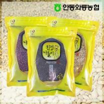 [안동와룡농협] 영양만점 혼합 잡곡 3kg 3호 (찰흑미+수수쌀+팥)