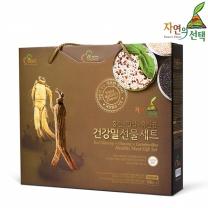[자연의선택] 건강밀선물세트 2호 600g (인삼건강밀300g+홍삼건강밀300g)