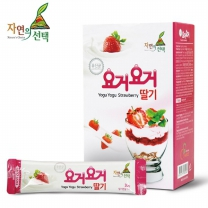 [자연의선택] 요거요거 딸기 300g (스틱형 30gx10개입)