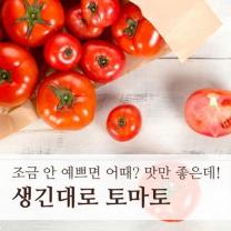 (인빌푸드)달기농장 생긴대로 토마토 5kg