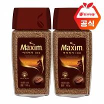 [동서식품] 맥심 아라비카100 커피 100gx2병