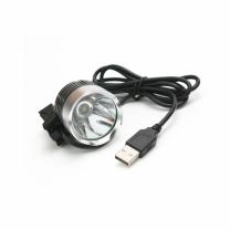 [바보사랑]CREED L2 USB LED 자전거 라이트 1300루멘 주황색