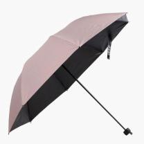 [바보사랑]스트라이프 3단 우산 겸 양산/UV차단 3단우산 접이우산