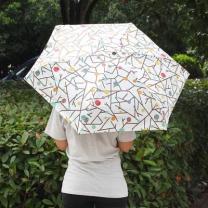[바보사랑]포레스트 양산겸용 우산/자외선차단 수동우산 5단우산