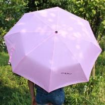 [바보사랑]컬러 3단 우산겸 양산