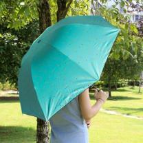 [바보사랑]알록달록 3단우산 겸 양산/자외선 차단  접이식우산