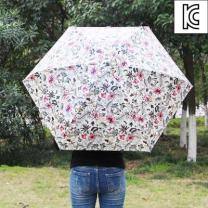 [바보사랑]플라워 미니 5단 양산겸 우산