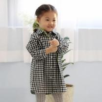 [바보사랑]어텀 깅엄체크 유아 남방 T156