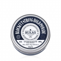 무칸 블럭컷 스트롱홀드 포마드 헤어왁스 100g