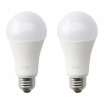 [바보사랑]이케아 RYET LED 전구 2p (E26/1000루멘)