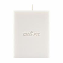 [바보사랑]flat soy candle-Slow letter W