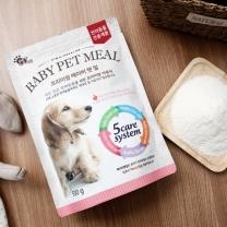 [바보사랑]반려동물 이유식 및 영양보조제 베이비 펫밀 500g 모유대용가능