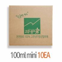 [바보사랑]천연 고추냉이천연탈취제-100ml 10개박스세트