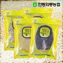 [안동와룡농협] 영양만점 혼합 잡곡 4kg 2호 (찰흑미+찰보리쌀2+혼합15곡)