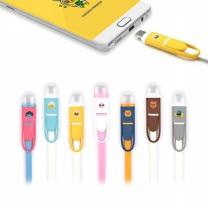 카카오프렌즈 멀티 USB 충전 케이블 12cm