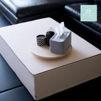 [쁘띠메종] 놀이매트 전용 쇼파테이블/안전테이블 크림 (100 x 70 x 26cm)