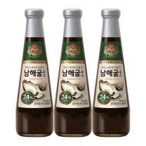 [CJ직배송]백설 남해굴소스 500gX3개