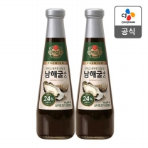 [CJ직배송]백설 남해굴소스 500gX2개