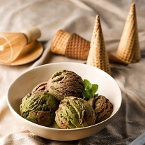 피나포레 X DIA FOOD 초코말차 더스쿱 쿠키 홈베이킹