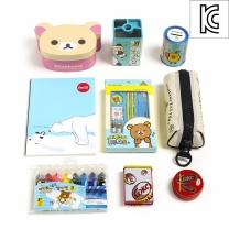 리락쿠마 베스트 문구세트/어린이날선물 학용품세트