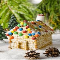 피나포레 오두막 과자집 만들기 DIY 홈베이킹 키트