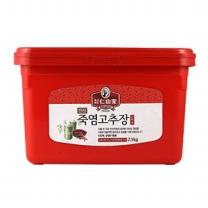 [죽염명가-인산가]죽염고추장 순한맛 2.5kg