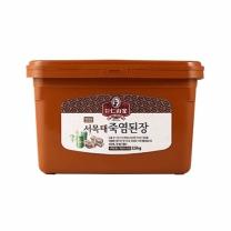 [죽염명가-인산가]서목태 죽염된장 2.5kg