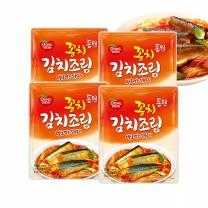 [동원]꽁치 김치조림 170g 파우치x4봉