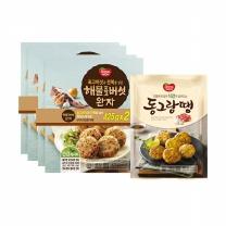 [동원]명품해물 표고버섯 완자425gx4봉+동그랑땡850g