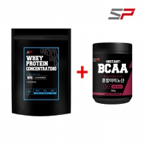 SP 2종세트 WPC1.5kg+BCAA300g