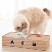 [바보사랑]고양이장난감 가리가리 플레이 박스