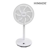 [하이마트] 스마트에코 DC선풍기 HM-MP8140AW [풍속12단 / 12시간타이머 / 리모컨 / 35cm]