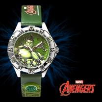 MARVEL 마블 MA001-HUGR 가죽밴드 어린이 시계