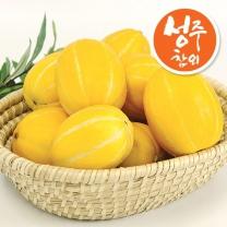 산지직송 성주 꿀! 참외 (정품) 가정용 4.5kg 내외 (16-26과)