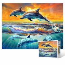 [바보사랑]500피스 직소퍼즐 / 돌고래의 바다
