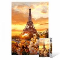 [바보사랑]500피스 직소퍼즐 / 노을 속의 에펠탑