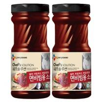 [CJ직배송]쉐프솔루션 면비빔용소스890GX2개