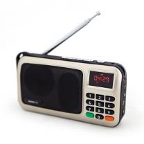 [무료배송][메모렛] 휴대용 MP3 라디오 효도라디오 DMP-7000 음원미포함