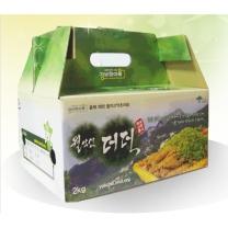 (인빌푸드) 월악산 더덕(상) 2kg