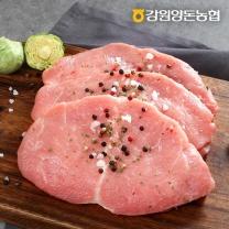 [강원양돈농협] 깊은산 맑은돼지 등심 1kg
