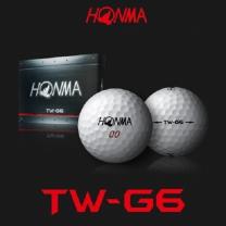 혼마 정품 TW-G6 골프볼 6피스 12알 골프공 골프용품
